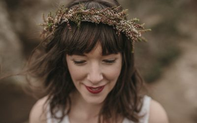 bohemian wedding at Hanging Rock