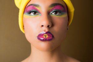 Makeup by Inèz • Photo by Daisy van Knotsenburg • Model Sarah M'Peti