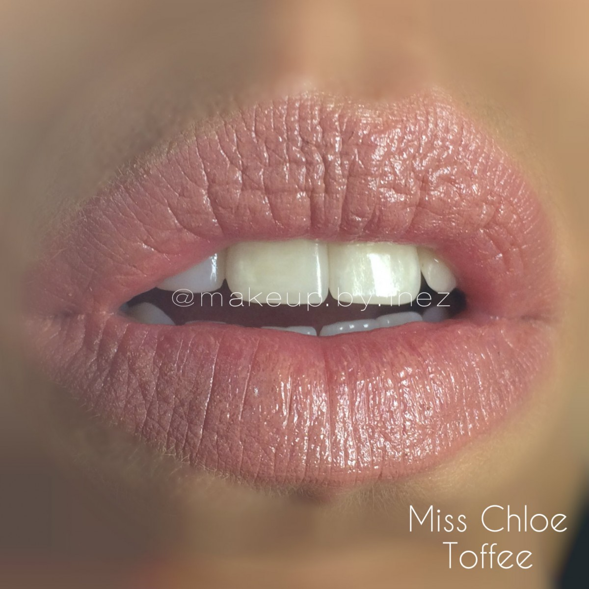 Miss Chloe Toffee Satin Luxe