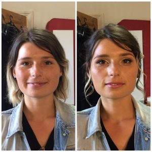 Francesca Before & After • Hair & Makeup